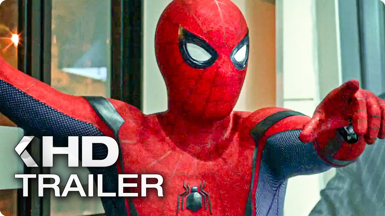 Animated Spider Wallpaper Spider Man Homecoming Trailer 3 2017 Youtube