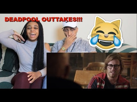 Couple Reacts : Deadpool Movie Outtakes! Reaction!!