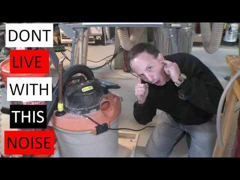How to Reduce Shop Vac Noise by 50%
