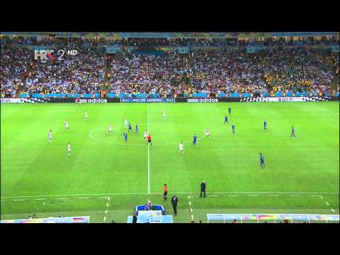 World Cup 2014 Final Germany  Argentina Extra Time