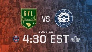 2019 NPSL Southeast Semifinal 1 - Greenville FC vs Asheville City SC