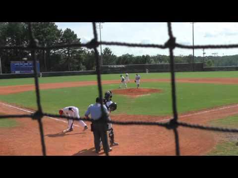 Jake Sadowitz pitching PG Georgia Gallagher Mizuno vs. Marucci 07-04-15