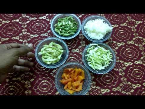 Homemade Dog food vegetarian recipe#1 (HINDI)