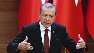 اردوغان: العملية العسكرية بسوريا تستهدف داعش والأكراد
