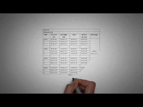 Theodolite Calculation Of Surveying (Horizontal & Vertical Angle)