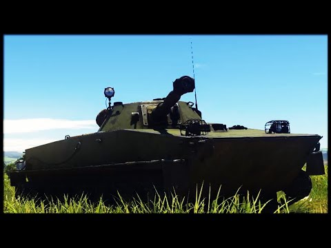 APCR ONLY!! || PT 76 (War Thunder Tanks Gameplay)