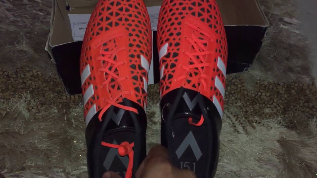 ead71ddf2 Adidas Ace 15.1 FG AG unboxing and short Review - YouTube