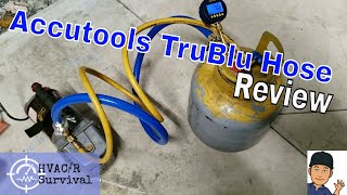 AccuTools TruBlu Evacuation Vacuum Hose Review, Fastest Evacuation Possible