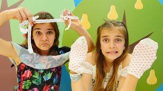 Sema ve Ayça ile en eğlenceli challenge. Komik türkçe challenge  için.