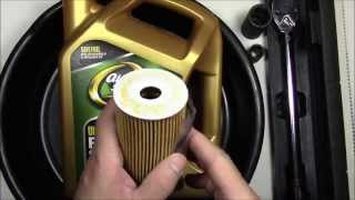 Oil & Filter Change Kia Sorento 2014 SXL 3.3 Liter 6 Cylinder Engine HD
