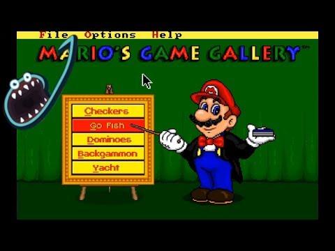 Jerma Streams - Mario's Game Gallery