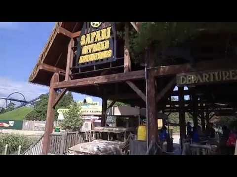 Start of the Safari Off Road Adventure in Six Flags Great Adventure in New Jersey