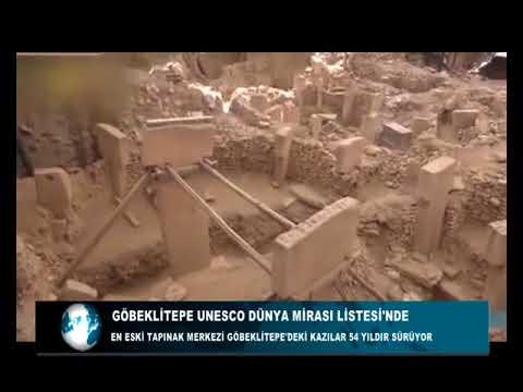 GÖBEKLİTEPE UNESCO DÜNYA MİRASI LİSTESİ'NDE