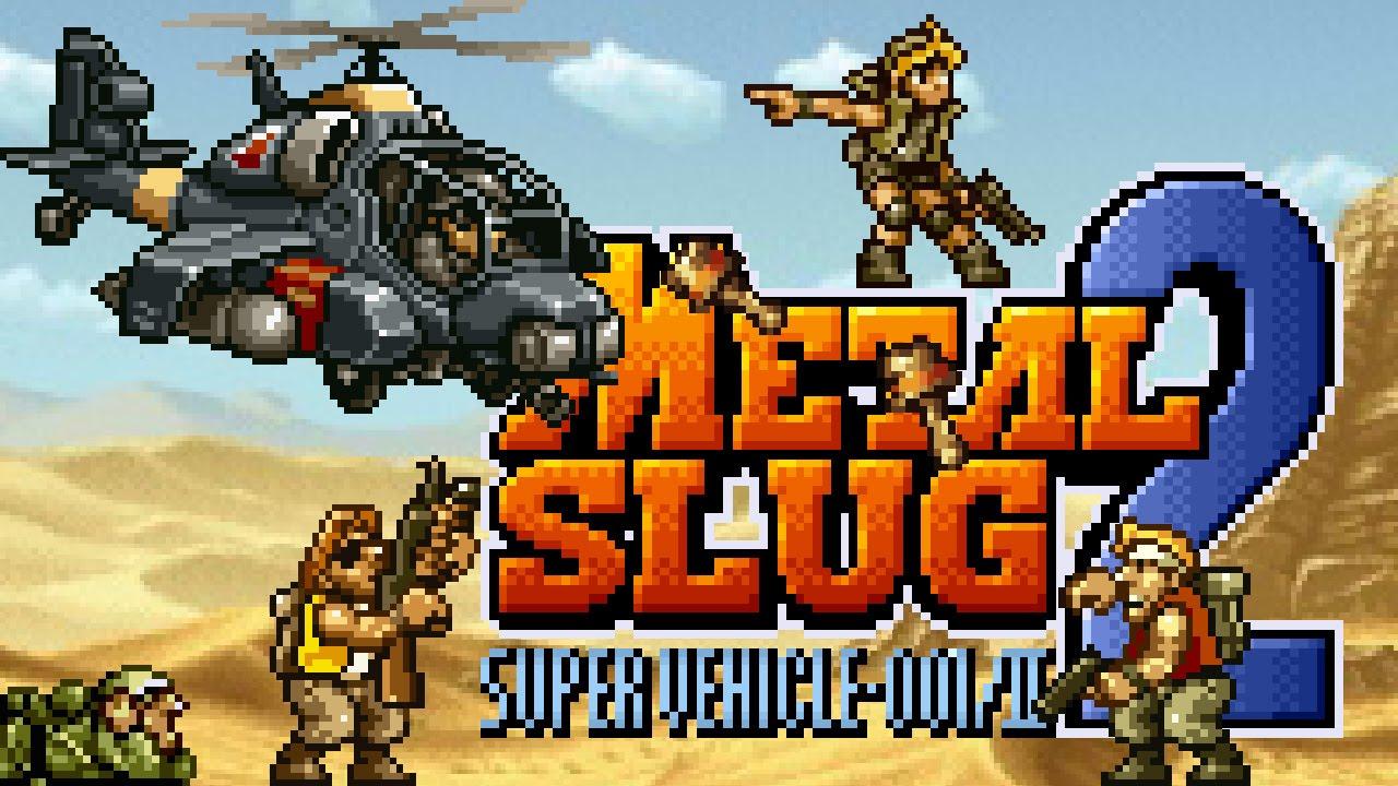 Metal Slug 2 Super Vehicle 001 Ii Neo Geo Partida