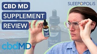 cbdMD Sleep Aid Review - My Experience with the PM Tincture