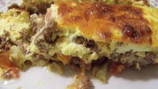 Dukan Diet Vlog #4: Cheeseburger Quiche