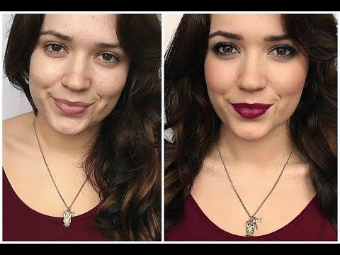 Smokey Liner & Berry Lips Tutorial (Fall Makeup) thumbnail