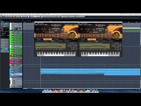How to program Realistic Guitars in Cubase tutorial
