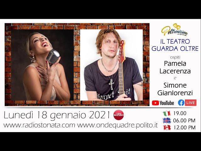 18.01.2021 Pamela Lacerenza e Simone Gianlorenzi ospiti a Poltronissima in diretta su Radio Stonata