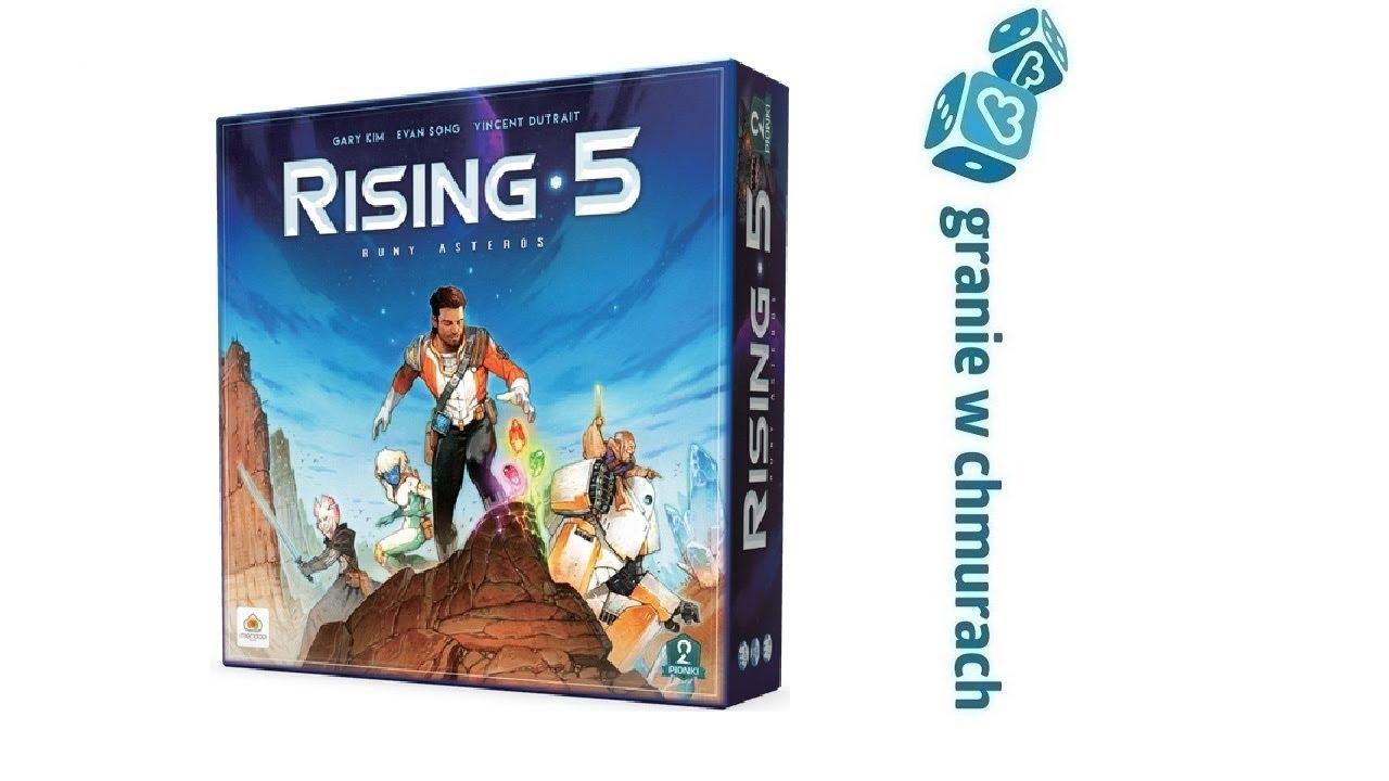 Rising 5 Runy Asteros – zasady, przykładowa rozgrywka