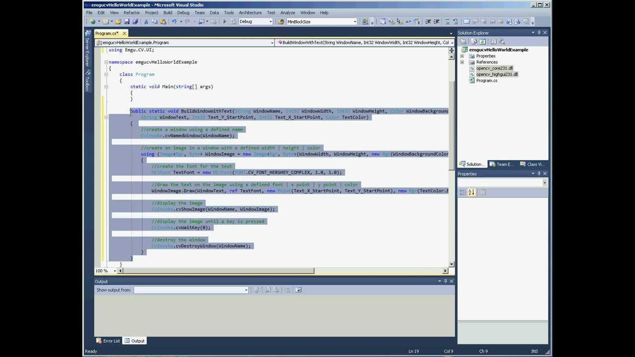 emgu cv tutorial c pdf
