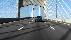 Dames Point Bridge northbound