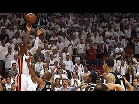 EPIC Spurs at Heat 4th quarter highlights from Game 6!