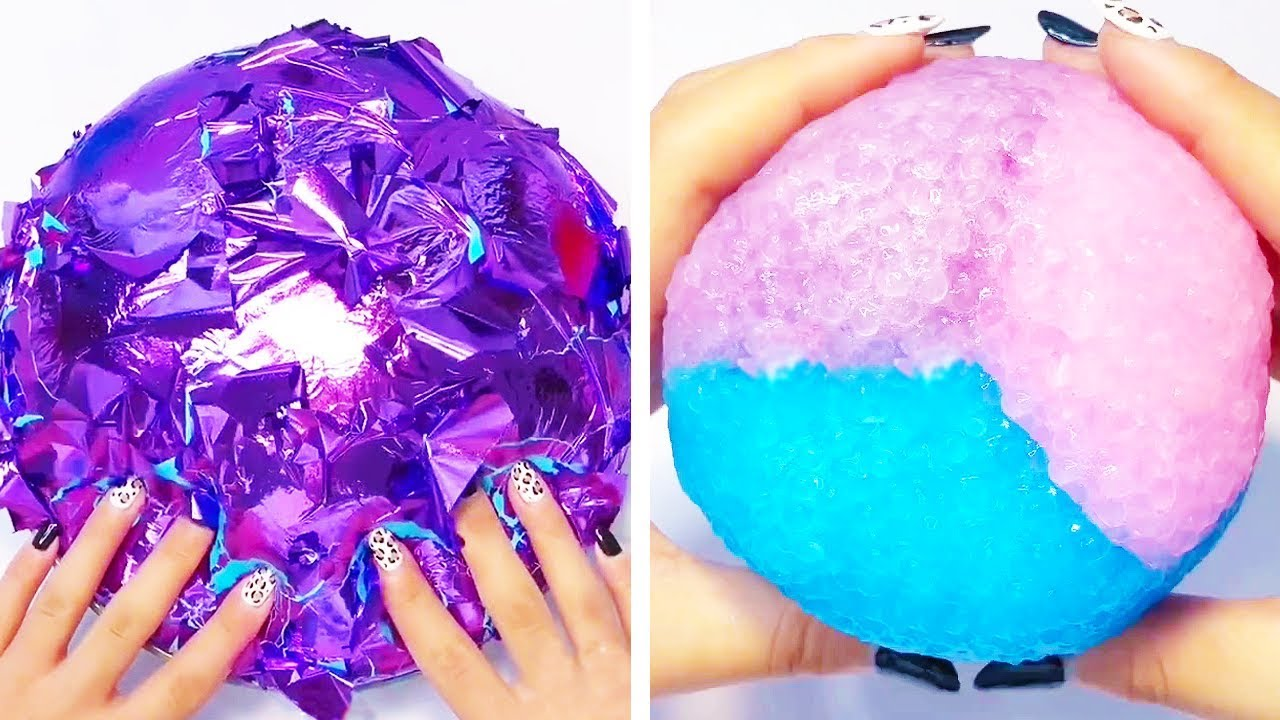The Most Satisfying Slime ASMR Videos   Oddly Satisfying ...