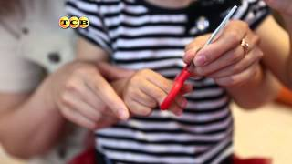 Как ребенка научить вырезать ножницами