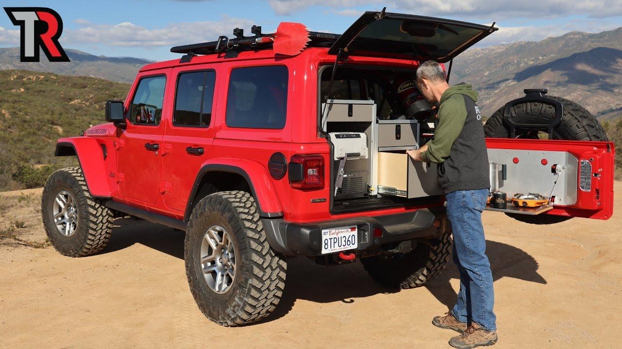 Overland Jeep Wrangler Gear Loadout
