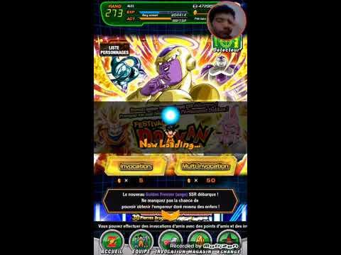 Dragon Ball Z Dokkan Battle : MULTI-INVOCATION GOLDEN FREEZER (anges) !!!!