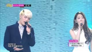[HOT] TaeYeon & JongHyun - BREATH, 종현 & 태연 - 숨소리, Show Music core 20140301