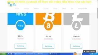 TXMINE: Trang đào có min rút cực thấp | Đào bitcoin tự động