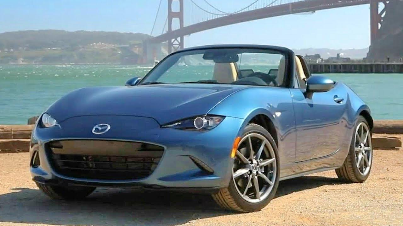 Mx 5 2018 >> 2019 Blue Mazda MX-5 Miata - Improved Response and Performance - YouTube