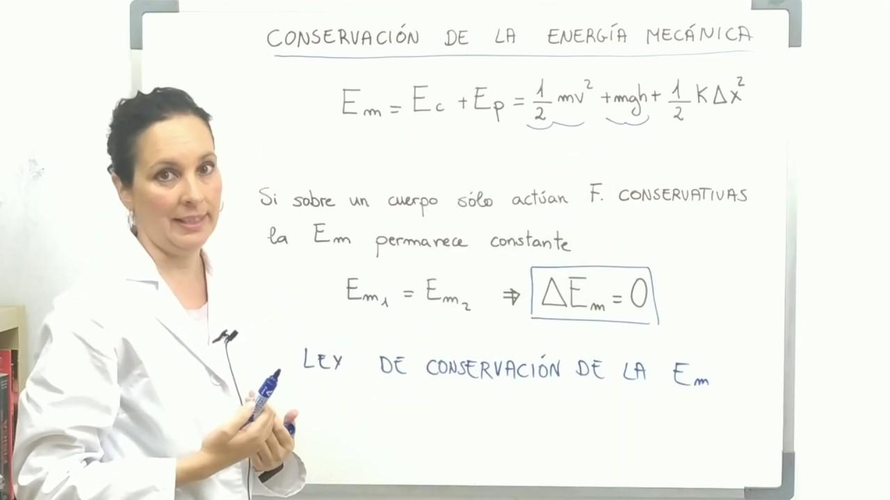 CONSERVACIÓN DE LA ENERGÍA MECÁNICA. EXPLICACIÓN.