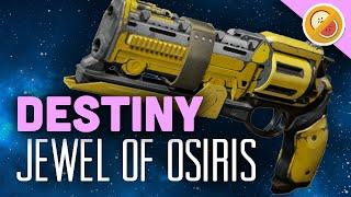 DESTINY Jewel of Osiris (Adept) Fully Upgraded Legendary Review (Trials of Osiris)