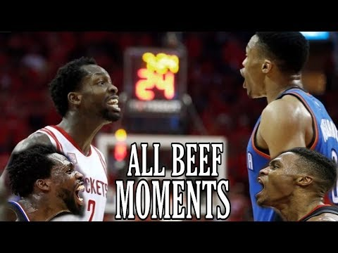ALL Russell Westbrook-Patrick Beverley BEEF Moments