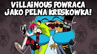 Villainous Powraca jako Pełna Kreskówka i Komiksy!
