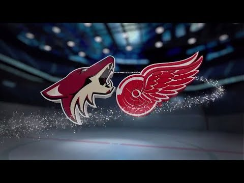 Arizona Coyotes vs Detroit Red Wings- October 31, 2017 | Game Highlights | NHL 2017/18. Обзор матча