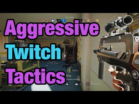 Aggressive Twitch Plays – Rainbow Six Siege