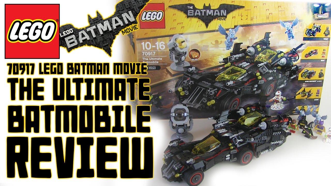 Lego 70917 The Ultimate Batmobile Review Lego Batman Movie Youtube