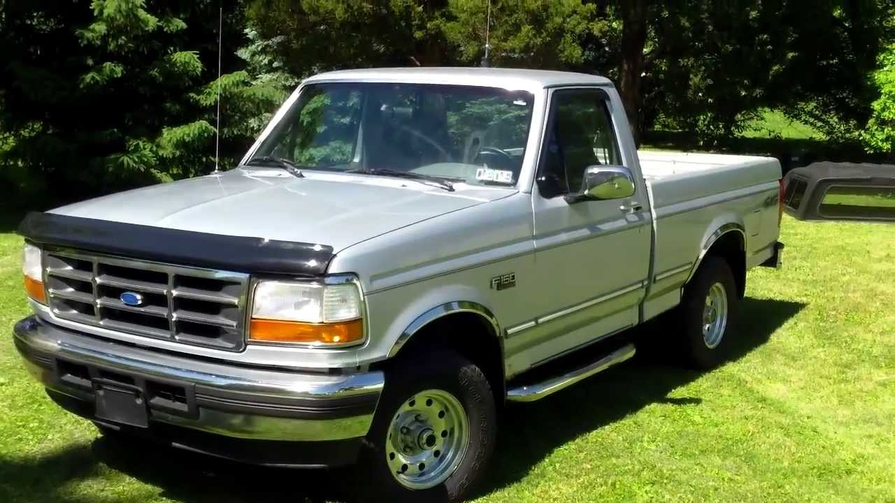 1996 ford f150 review