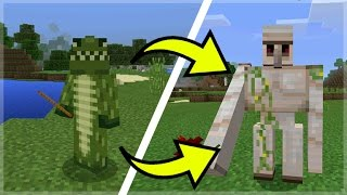 How To Morph Into Any Minecraft Mob In Minecraft Pocket Edition (Morph Changer Mod)