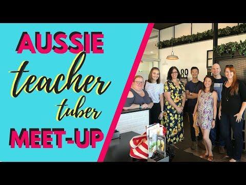 Aussie Teacher Tuber Meet-Up vlog | Sydney, NSW | April 2018