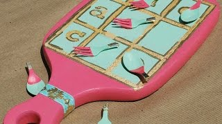 Make A Fun Upcycled Tic-tac-toe - Diy Crafts - Guidecentral