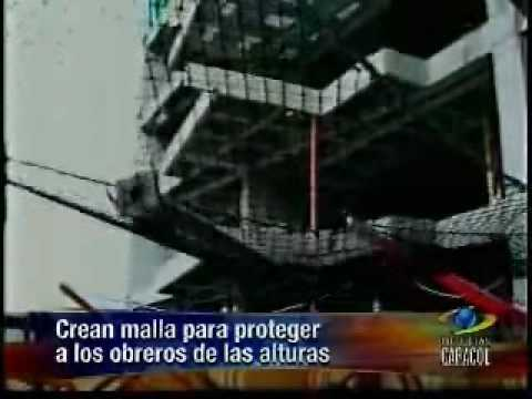 Atrappa mallas de seguridad para la construccion youtube for Malla de construccion