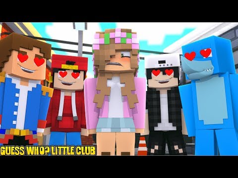 GUESS WHO?! THE LITTLE CLUB | Minecraft Little Kelly