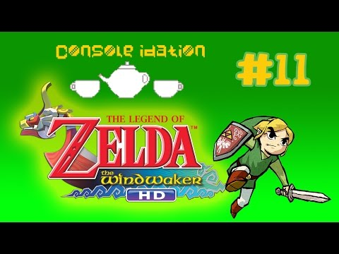 The Legend of Zelda Windwaker HD Episode 11 - Literally Just Sailing
