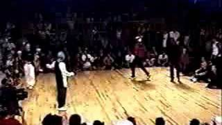 Bboy K-mel in Red Bull Lord of the Floor 2001