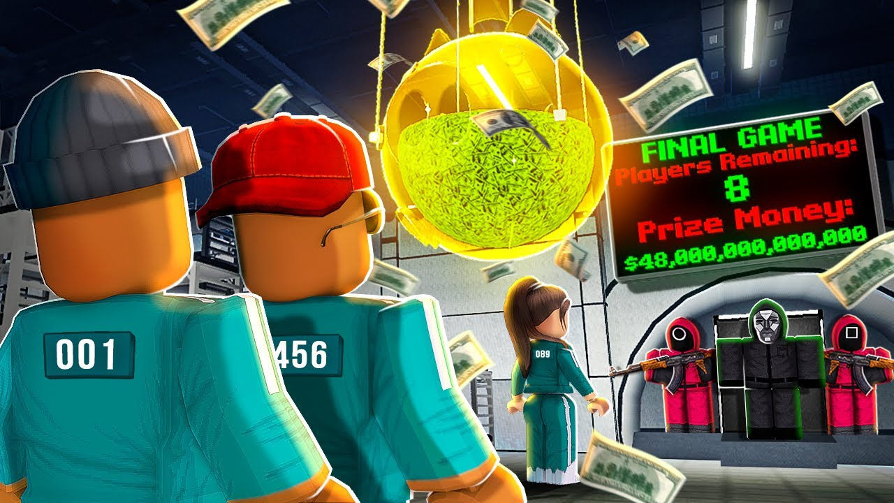 WE WON ROBLOX SQUID GAME!! ? 6 Games Completed